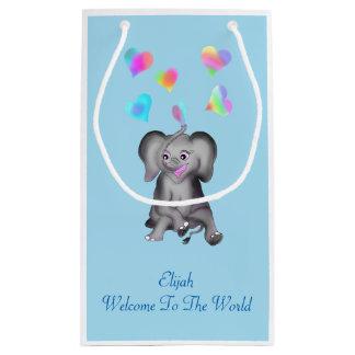 Elephant Hearts Small Gift Bag