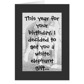 Elephant Humor Card