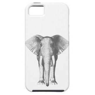 Elephant in Black and White Case For The iPhone 5