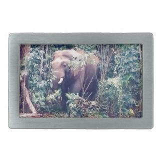 Elephant in Thailand Belt Buckles