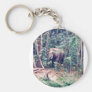 Elephant in Thailand Keychain