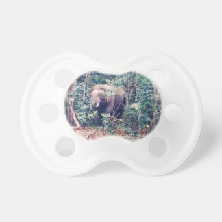 Elephant in Thailand Pacifier