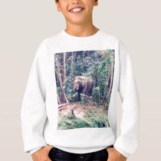 Elephant in Thailand Sweatshirt