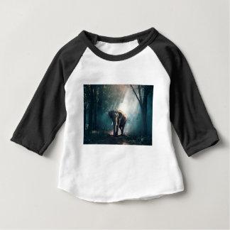 Elephant In The Savannah Baby T-Shirt