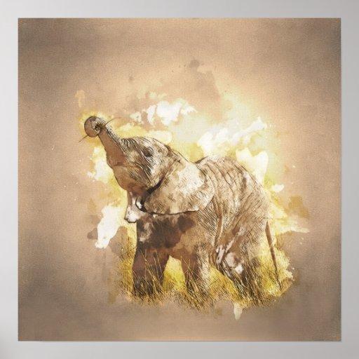 Elephant - It's Tea Time! Poster