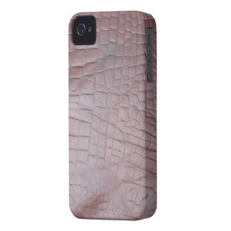 Elephant Leather-look Animal Skin iPhone 4 Case
