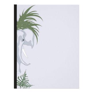 ELEPHANT LETTER HEAD Basic 2 Customized Letterhead