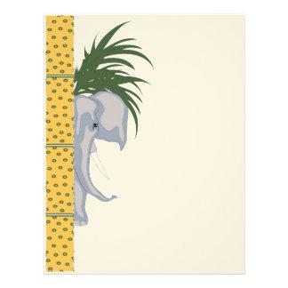 ELEPHANT LETTER HEAD Felt Letterhead Design