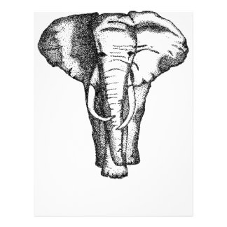 elephant letterhead template
