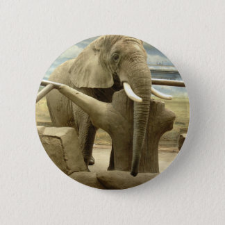 Elephant Love 2 Inch Round Button