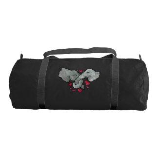 elephant lover gym bag