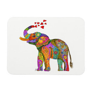 "Elephant Magnet 3""x4"" (You can Customize)"