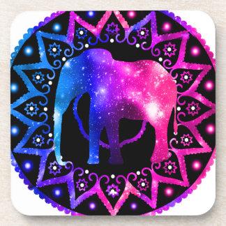 Elephant Mandala Coaster