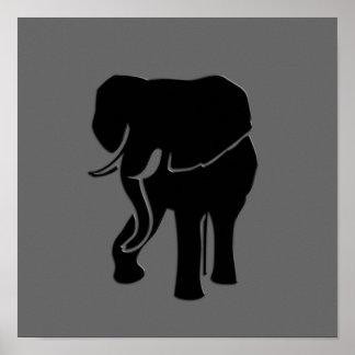 Elephant Modern Print Poster