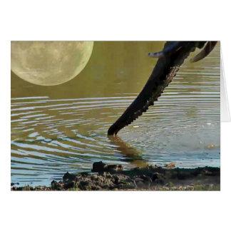 Elephant Moon Card