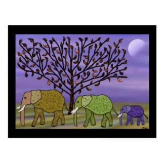 Elephant Moon Postcards