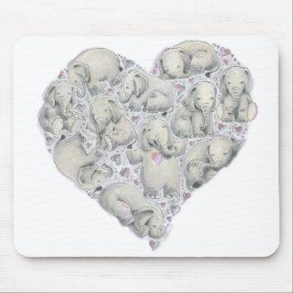 Elephant Mousepad by Cynthia Narcisi