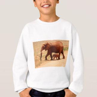 Elephant Mummy and Cub Sweatshirt