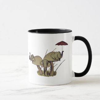 Elephant Mushrooms Mug