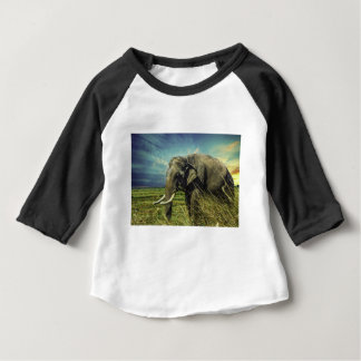 Elephant Nature Baby T-Shirt