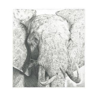 Elephant Notepad
