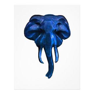 Elephant of courage letterhead design