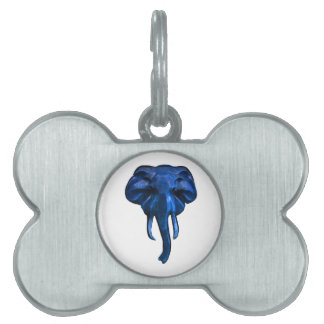 Elephant of courage pet ID tag