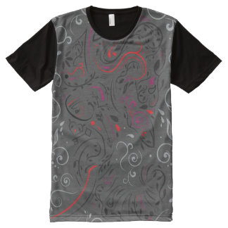 elephant ornate All-Over-Print T-Shirt