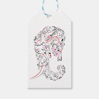 elephant ornate gift tags