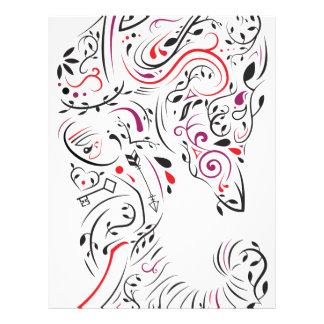 elephant ornate letterhead