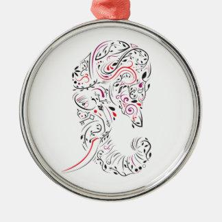 elephant ornate metal ornament