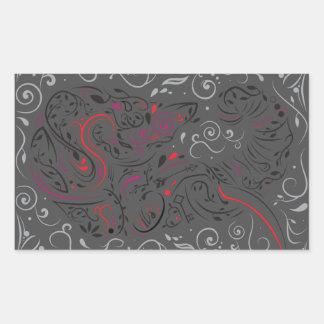elephant ornate sticker