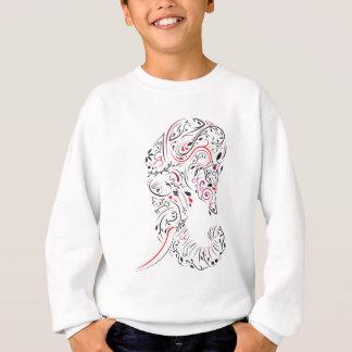 elephant ornate sweatshirt