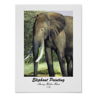 Elephant Painting Print - Customized