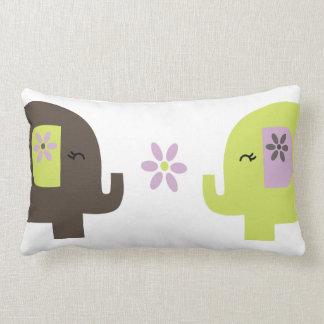 Elephant Pair Pillow