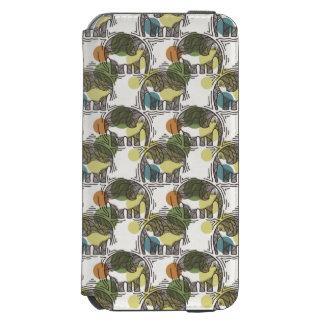 Elephant Pattern Incipio Watson™ iPhone 6 Wallet Case