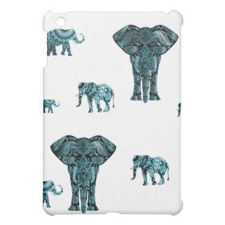 Elephant Pattern iPad Mini Cover