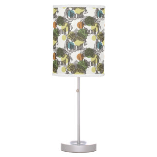 Elephant Pattern Table Lamps