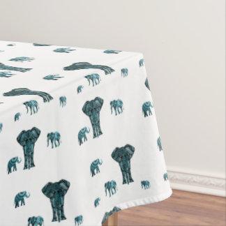 Elephant Pattern Tablecloth