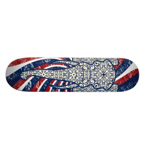 Elephant Peace Stella Skateboard Deck
