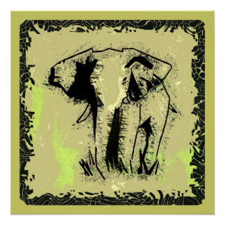 ELEPHANT PERFECT POSTER