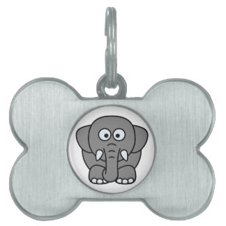 Elephant Pet Tag