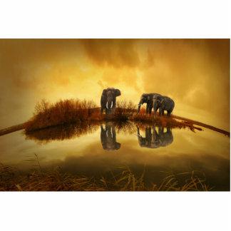 Elephant Acrylic Cut Out