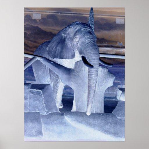Elephant Pop Art Print