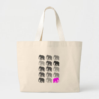 Elephant PopArt Gifts Large Tote Bag