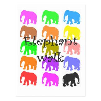 Elephant PopArt Gifts Postcard