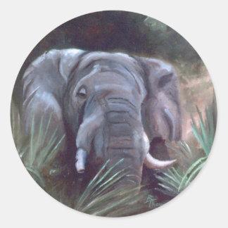 Elephant Portrait Sticker