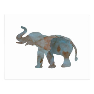 Elephant Postcard