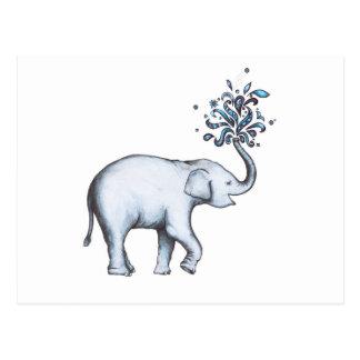 Elephant (Postcard) Postcard