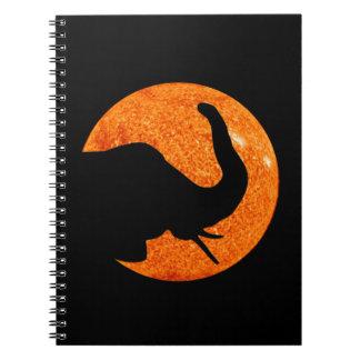 Elephant Profile Solar Eclipse Notebooks
